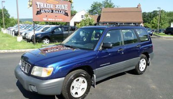 Buy Used NO RESERVE 2002 SUBARU FORESTER L AWD 1 OWNER