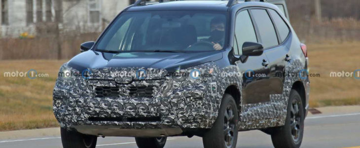 2022 Subaru Forester Front Spy Photo 5381024