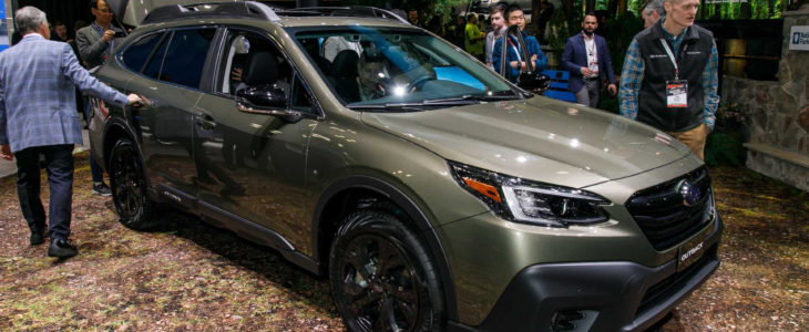 2021 Subaru Outback Green Automatic Performance Release